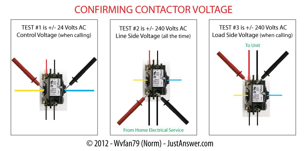 Compressor Contactor Wiring - Wiring Diagram Update on
