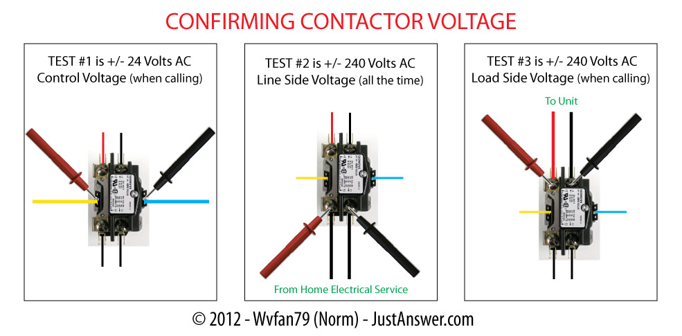 Carrier Contactor Wiring Diagram : I have a programmable honeywell thermostat seems like