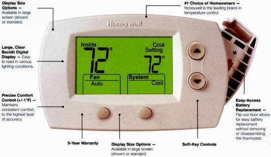 my thermostat does not illuminate and i am unable to ... honeywell 5000 thermostat wiring diagram