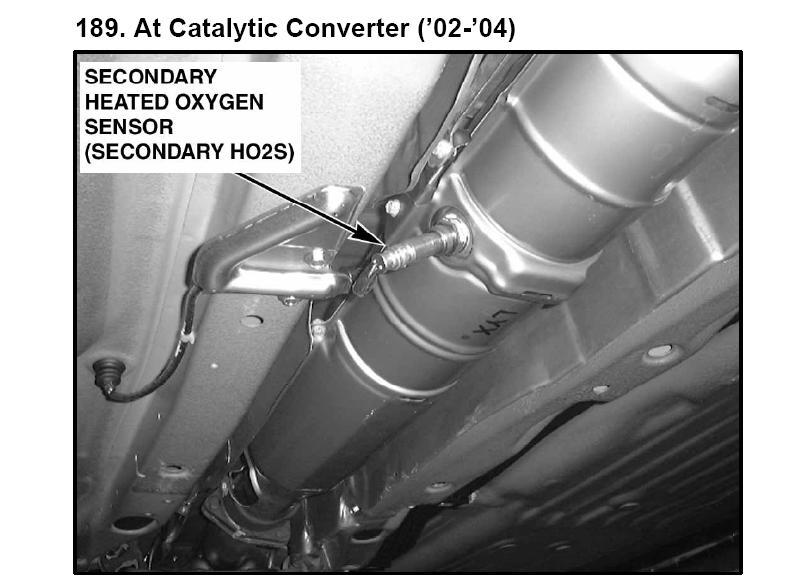 2002 3 5 rl secondary oxygen sensor location and can i replace it rh justanswer com 1997 Acura Integra Engine 1997 Acura SLX