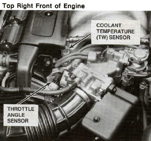 Where Is The Engine Coolant Temperature Sensor Located On