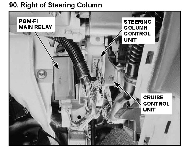 Where Is The Relay Assembly Main For Fuel Line Located On