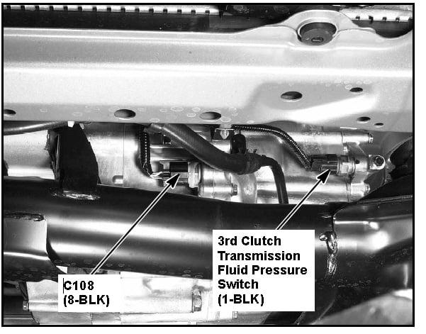 P0845 Transmission Fluid Pressure Sensor/Switch Circuit