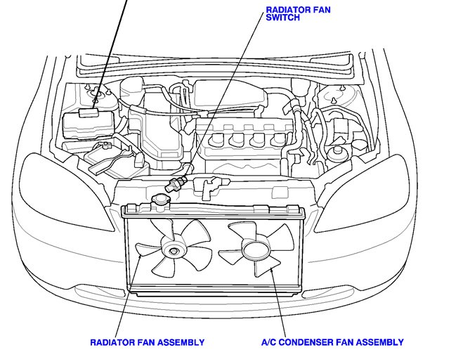 Check Engine Code Po132 69466 likewise 95 Civic C Doesnt Work No Voltage Condenser Fan Relay Fuse 35 A 3278558 moreover Heater Hoses Help 3257039 likewise 2004 Lincoln Aviator Cooling System Diagram Html also 1997 Honda Civic Cooling Fan Wiring Circuit Diagram. on 2001 honda crv thermostat