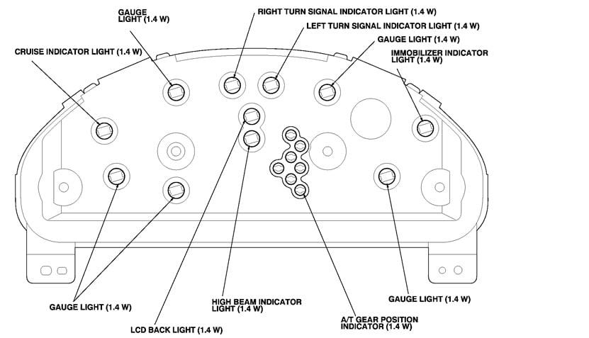 2006 Honda Crv Dash Lights Out | Decoratingspecial.com