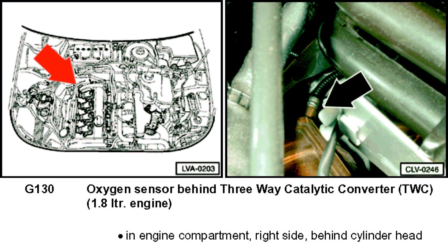 O2 Sensor Diagram 2003 Vw Beetle Bottom Quick Start Guide Of Engine Justanswer On 2000 I Am Changing The Post Cat My Passat 1 8t Rh Com
