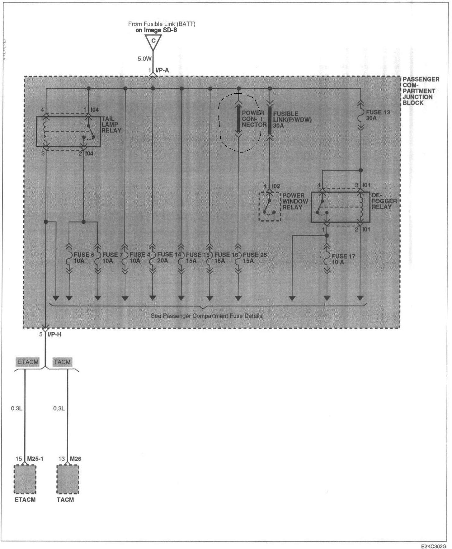 2002 hyundai elantra headlight wiring diagram hyundai elantra alternator wiring diagram #11
