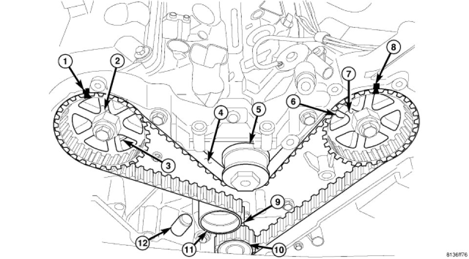 i have an 07 magnum sxt had to replace water pump pump is in but the rh justanswer com Dodge Magnum 5 7 Lexhaust Diagram 2005 Dodge Magnum Cooling System Diagram