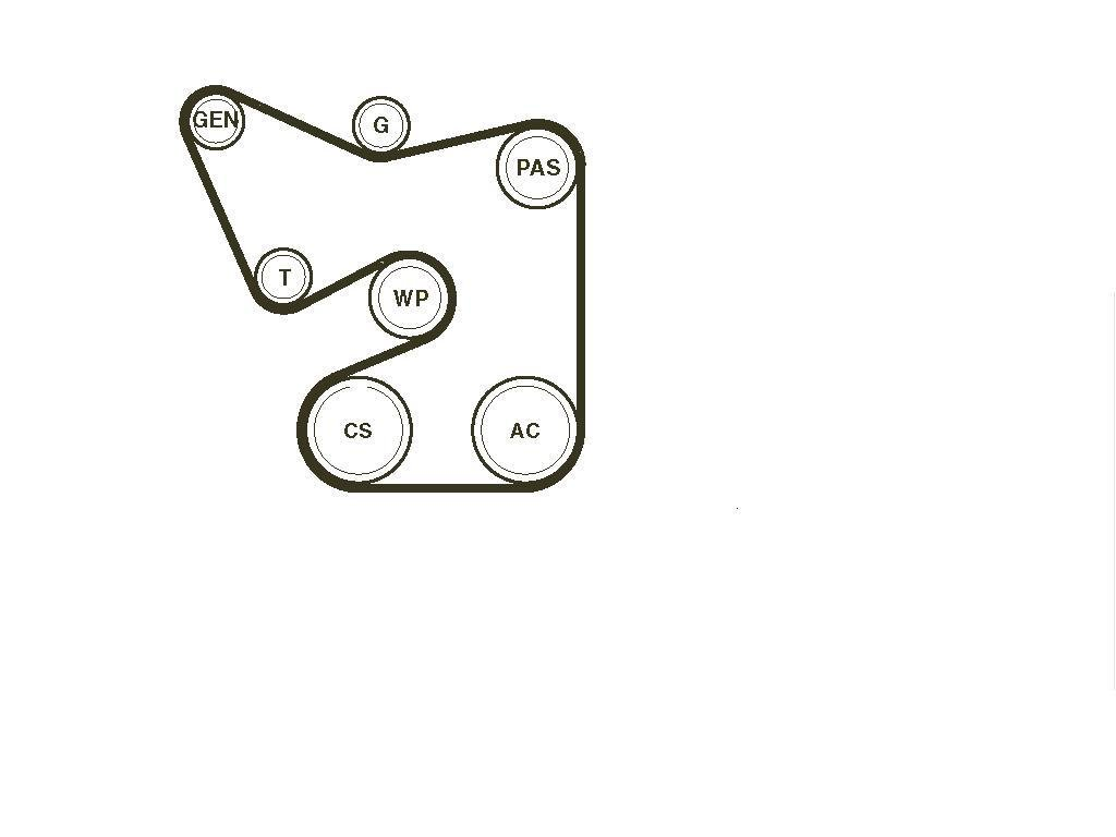 Need a belt diagram for a 2006 dodge ram 1500 5 7 liter