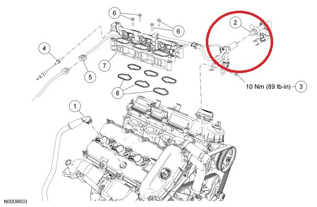 service manual  replace thermostat on a 2004 lincoln