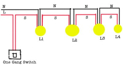 Sketch for running two lights with one switch the power supply graphic asfbconference2016 Choice Image