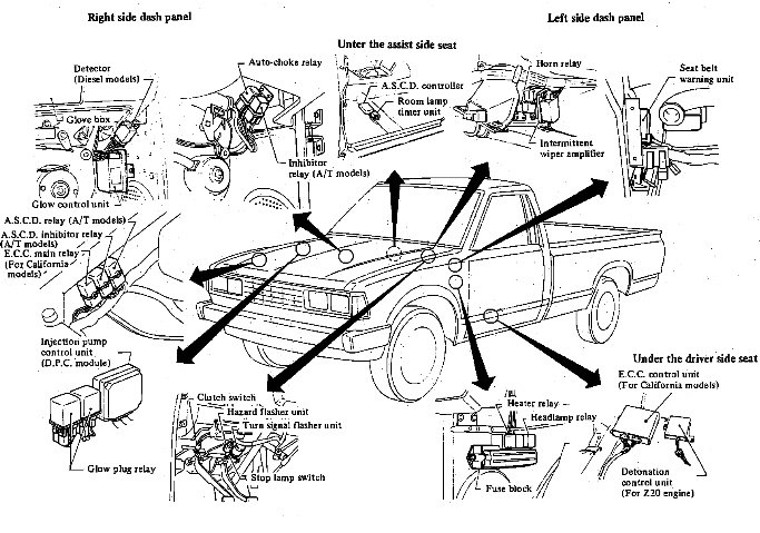 85 toyota pickup vacuum diagram