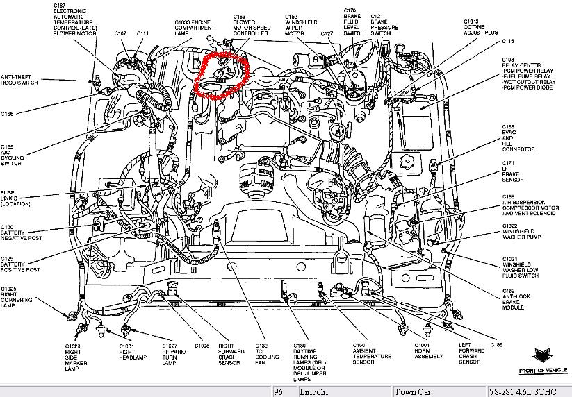 2000 mercury grand marquis heater diagram html