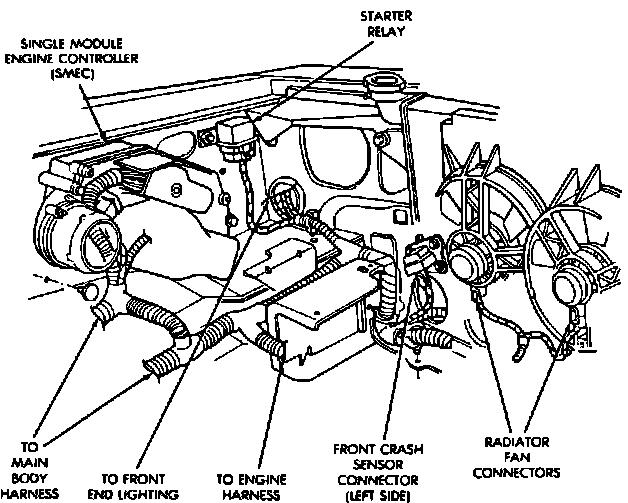 dodge journey starter diagram