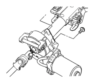 instructions to replace motor on electric power steering ... 2006 cobalt power steering wiring diagram