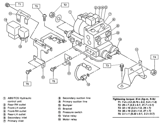 2011 subaru legacy body parts diagram