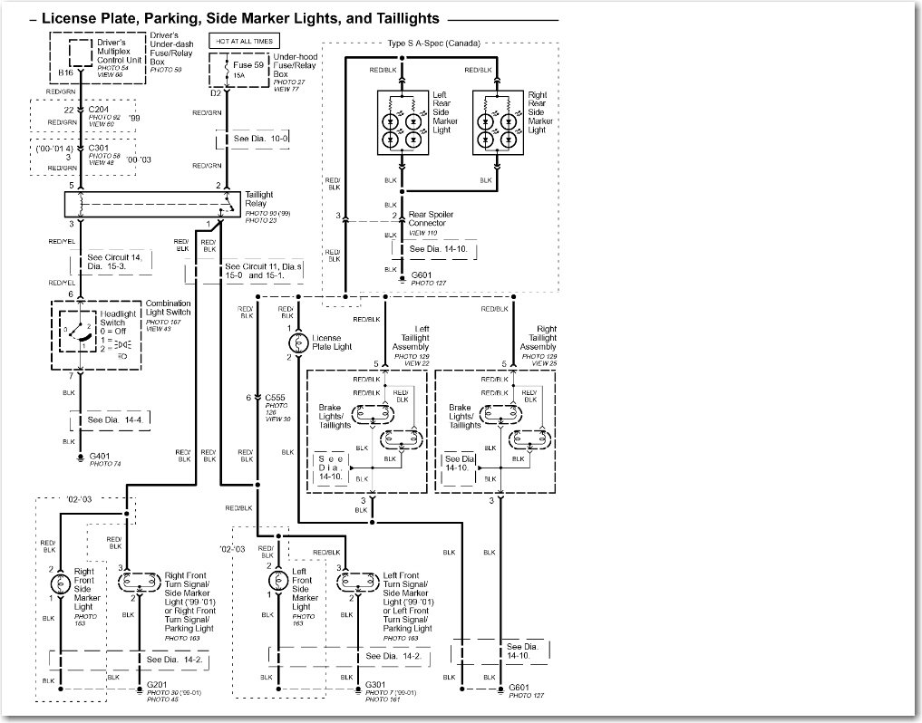 acura tl wire diagram