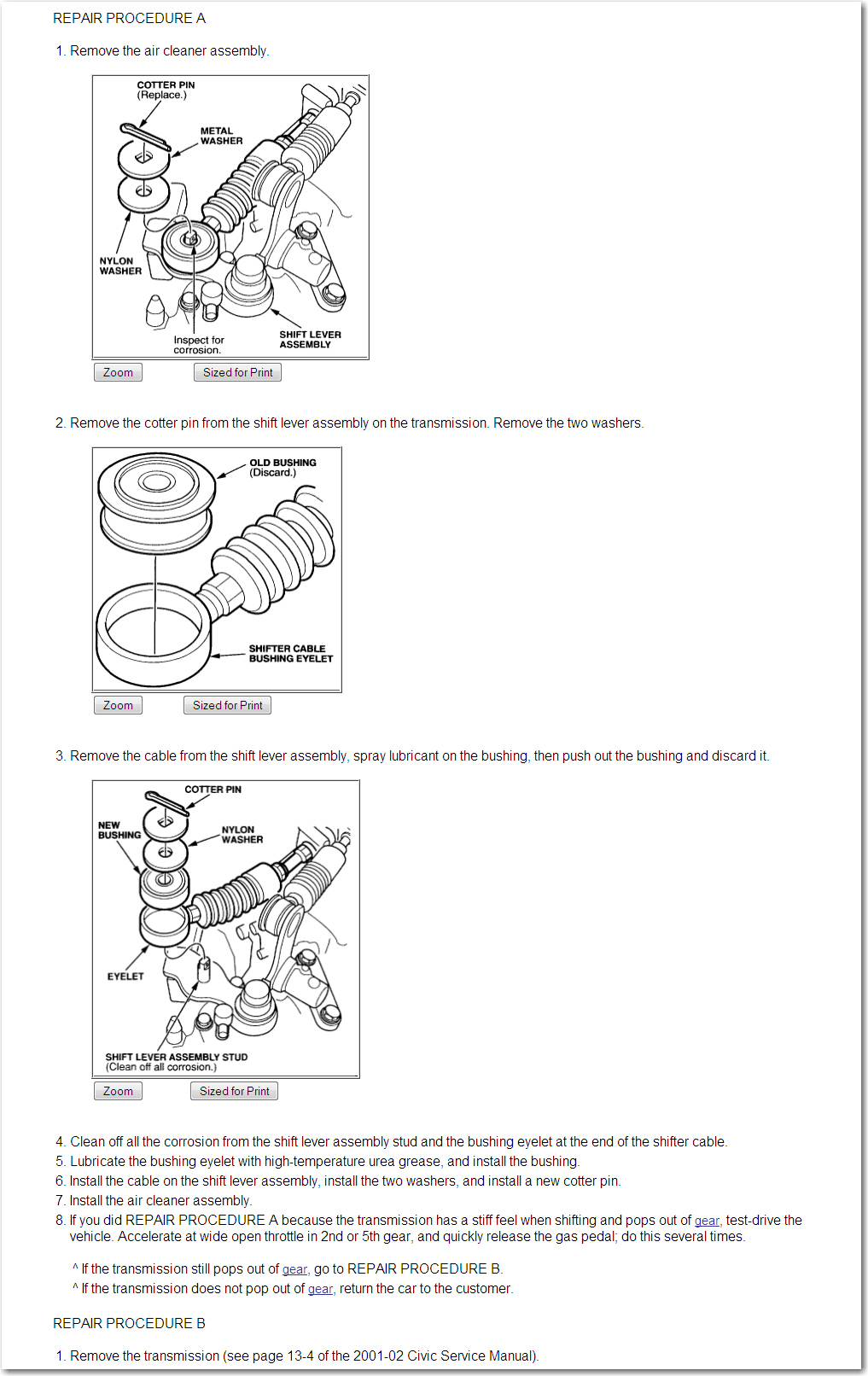 How difficult is it to replace the 2 transmission shift linkage graphic sciox Images