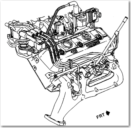 im having some problems with timing on a 4.3l v6 out of a ... v6 vortec engine vaccum diagram chevy v6 vortec engine diagram #13