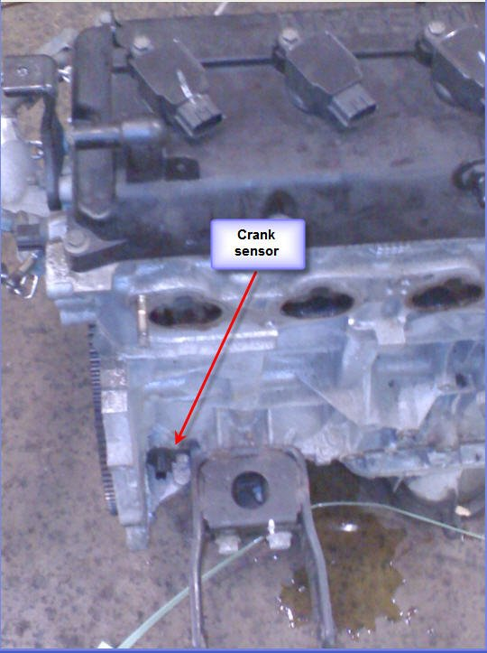 On A 2006 Altima 25 Where Is The Crank Position Sensor Locatedrhjustanswer: 2002 Nissan Altima Crank Sensor Location At Gmaili.net