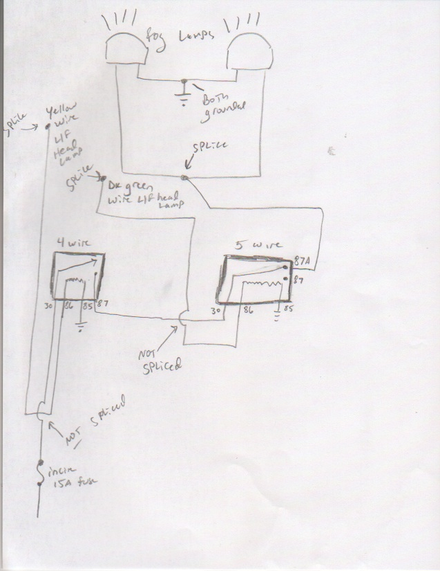 87a Relay Schematic