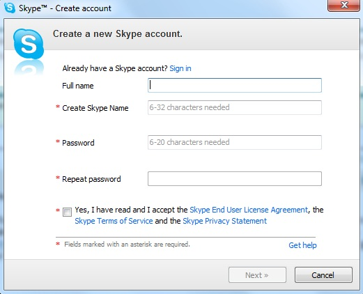skype free download for laptop