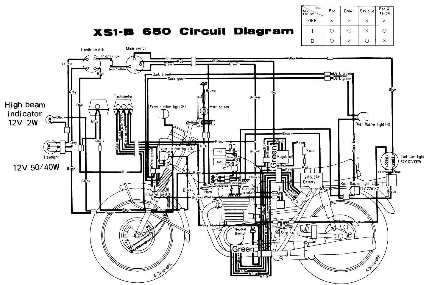 can someone please send a wiring diagram for a 1971 yamaha 650 xs rh justanswer com Air Conditioner Schematic Wiring Diagram Simple Wiring Schematics