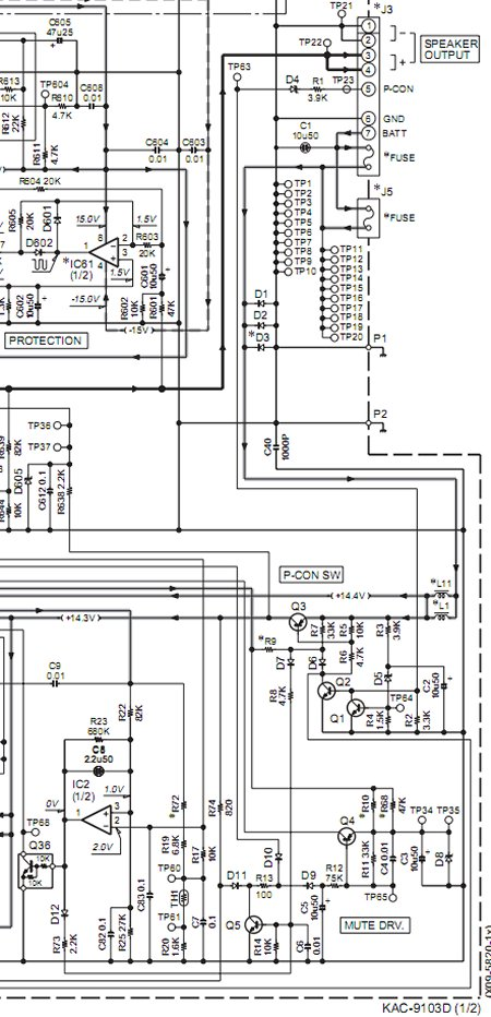 kenwood kac 622 wiring harness   30 wiring diagram images
