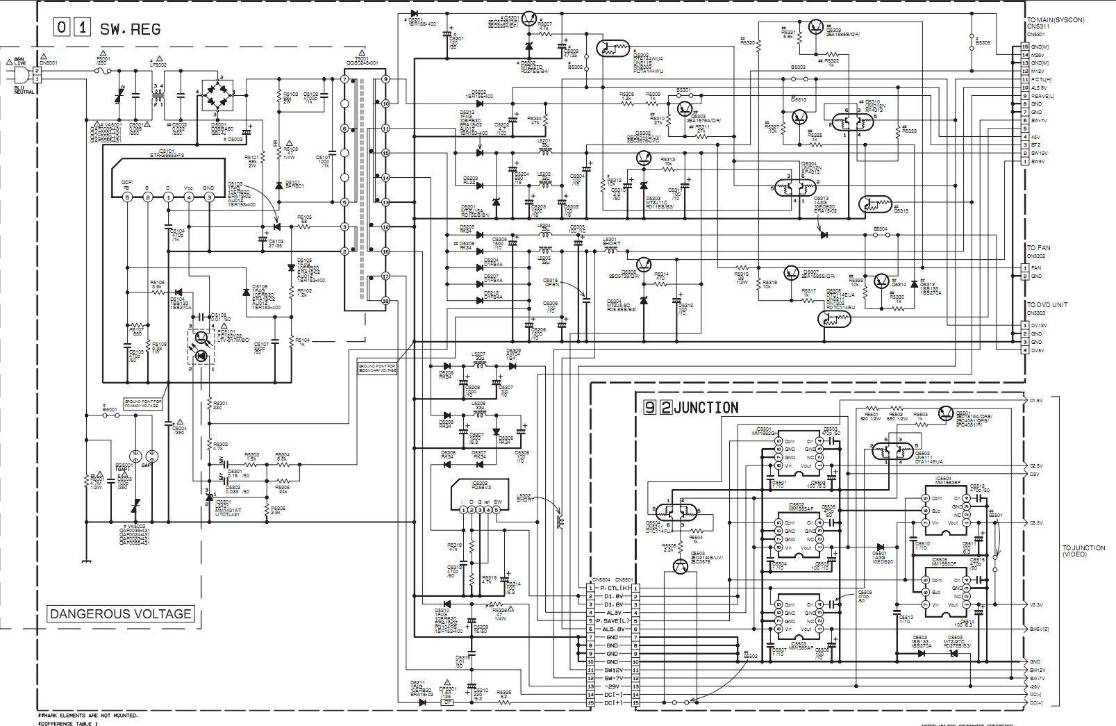 Jvc Tv Diagram Radio Wiring Crt Schematic Diagrams Schematics U2022 Rh Seniorlivinguniversity Co Circuit