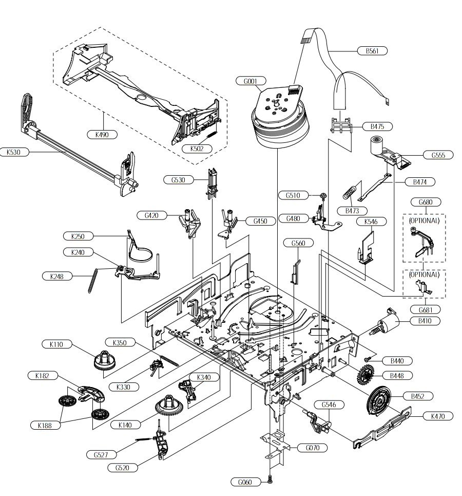 Vcr Parts Diagram Labeled Completed Wiring Diagrams Circuit Bolens Snowblower