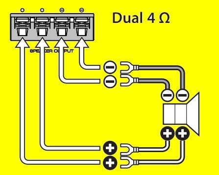 Can the Kenwood Kac-9105d 1800 Watt Mono Cl D Amplifier ... Kac D Sub Wiring Diagram on