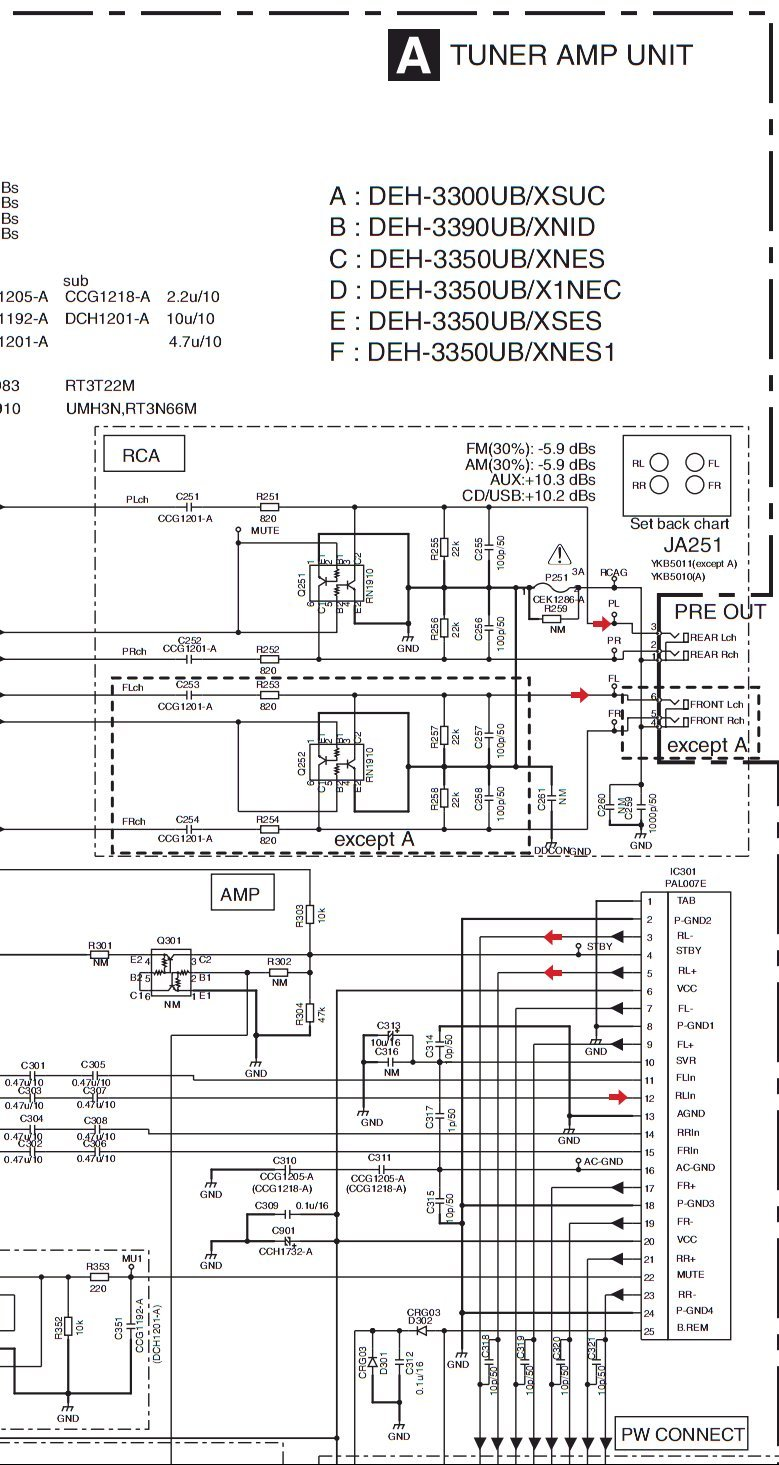 2012 08 22_204828_pioneer_deh 3300ub_lineout pioneer deh 3300ub how do i get a schematic, surface mount ic too pioneer deh p25 wiring diagram at soozxer.org