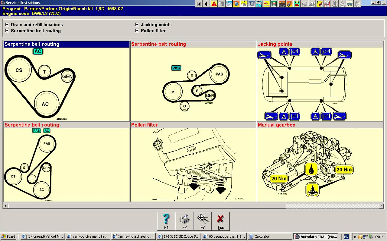 00 Peugot Partner 19 Diesel Serpentine Belt Broke Which One Of Engine Diagrams Graphic