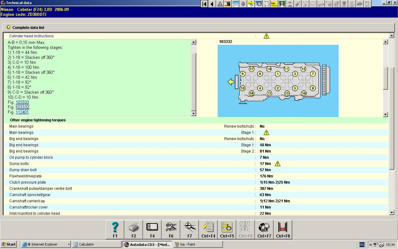 Can You Help Me Out With A Cylinderhead Torque Diagram For