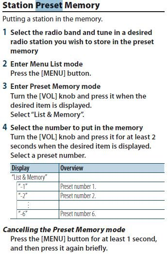 [QMVU_8575]  How do I set the preset radio stations on a kdc-x794. I only have the ones  it gives me in auto memory | Kenwood Kdc X794 Wiring Diagram |  | JustAnswer