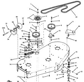 land pride mower parts diagram