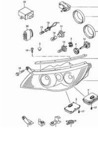 trying to find the cornering light part number for a 2009