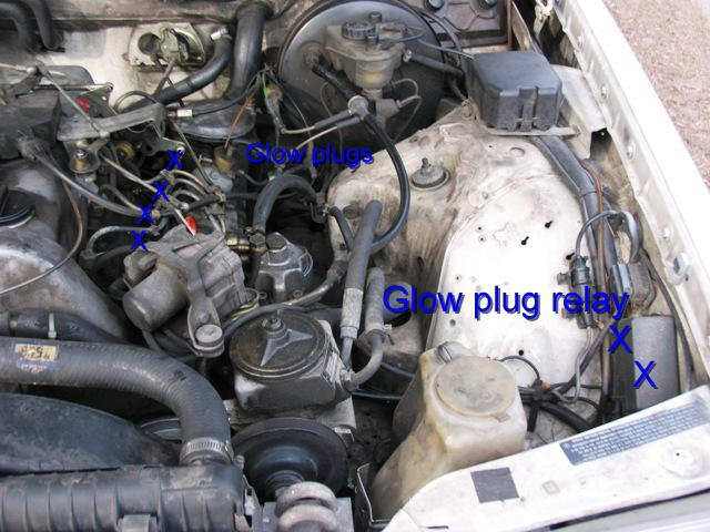 Mercedes Glow Plug Relay Wiring Diagram : Glow plug relay wiring diagram dodge sprinter