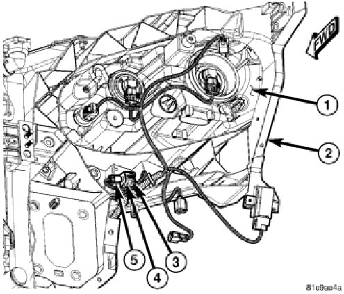 Where are the airbag sensors in the 2008 minivans? We just