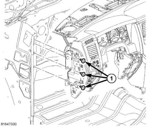 Diagram Or Shetch How To Replace A Evaporator Of A Dodge Ram 1500
