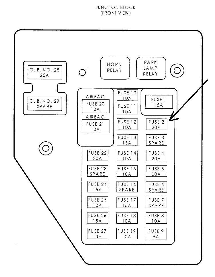 2001 dodge dakota fuse box location  u2022 wiring diagram for free