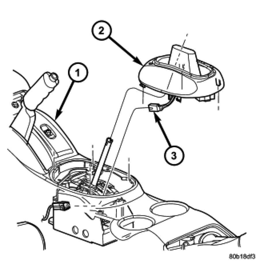 2009 Dodge Avenger Transmission: [2002 Chrysler Sebring Transmission Interlock Solenoid