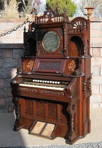 I Have A Very Ornate Quite Large Antique Pump Organ It