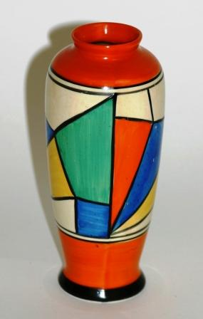 Clarice Cliff Vase Shapes Vase And Cellar Image Avorcor