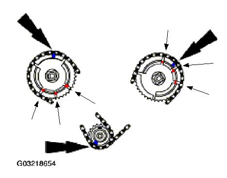 ford 5 4 3v timing chain diagram html