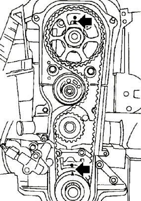 99 Ford Cougar Timming Belt Diagram 2 0