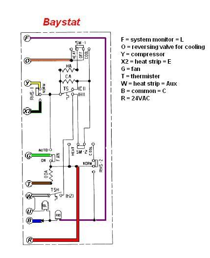 baystat 240 wiring diagram thermostat wiring color code heat  wiring diagram trane baystat239a #5