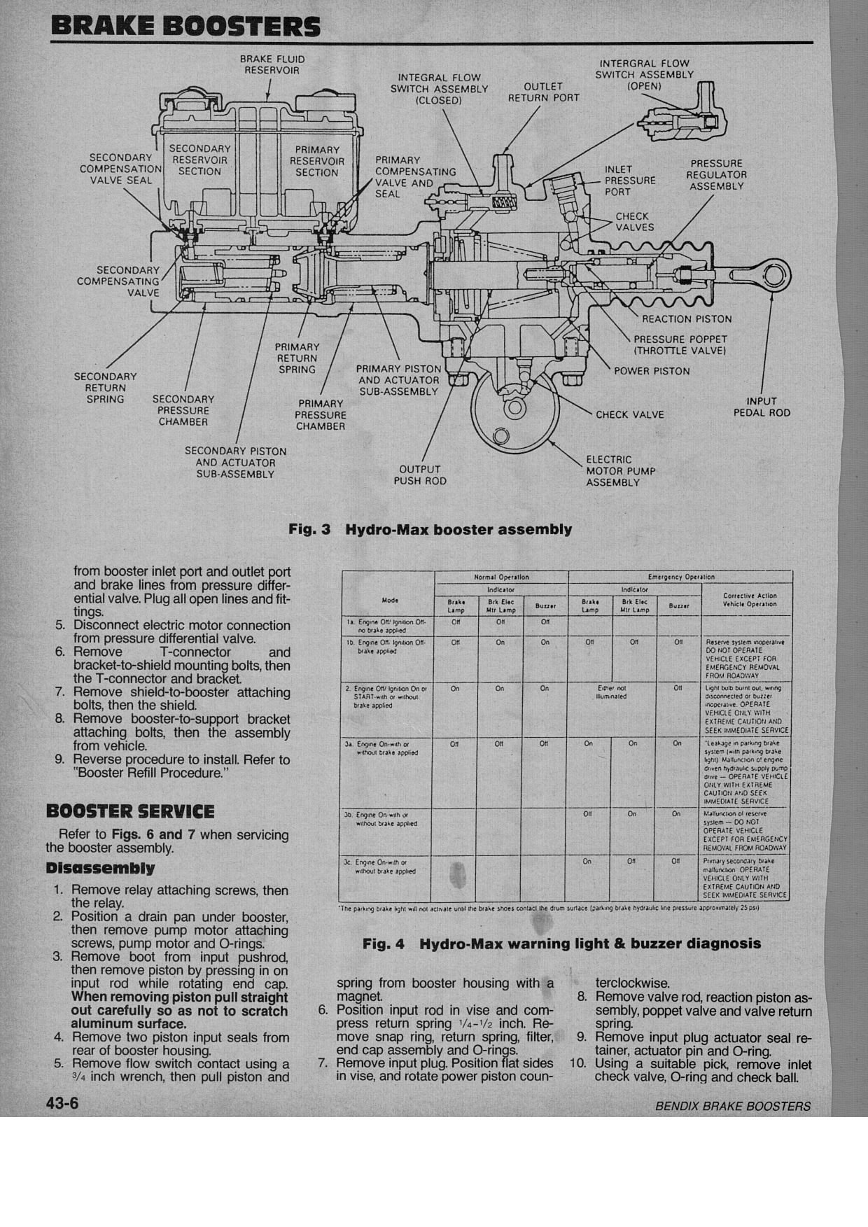 Ford F700 Hydraulic Brake System Diagram : I have a ford f truck with hydralic brakes and the