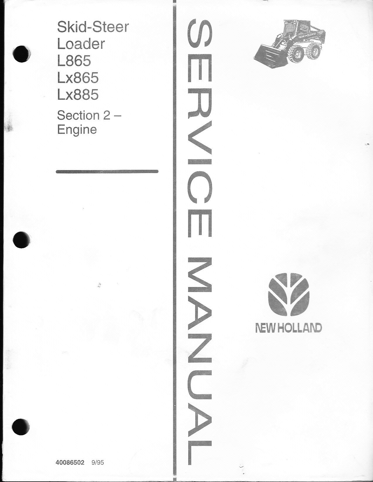 wiring diagram new holland l185
