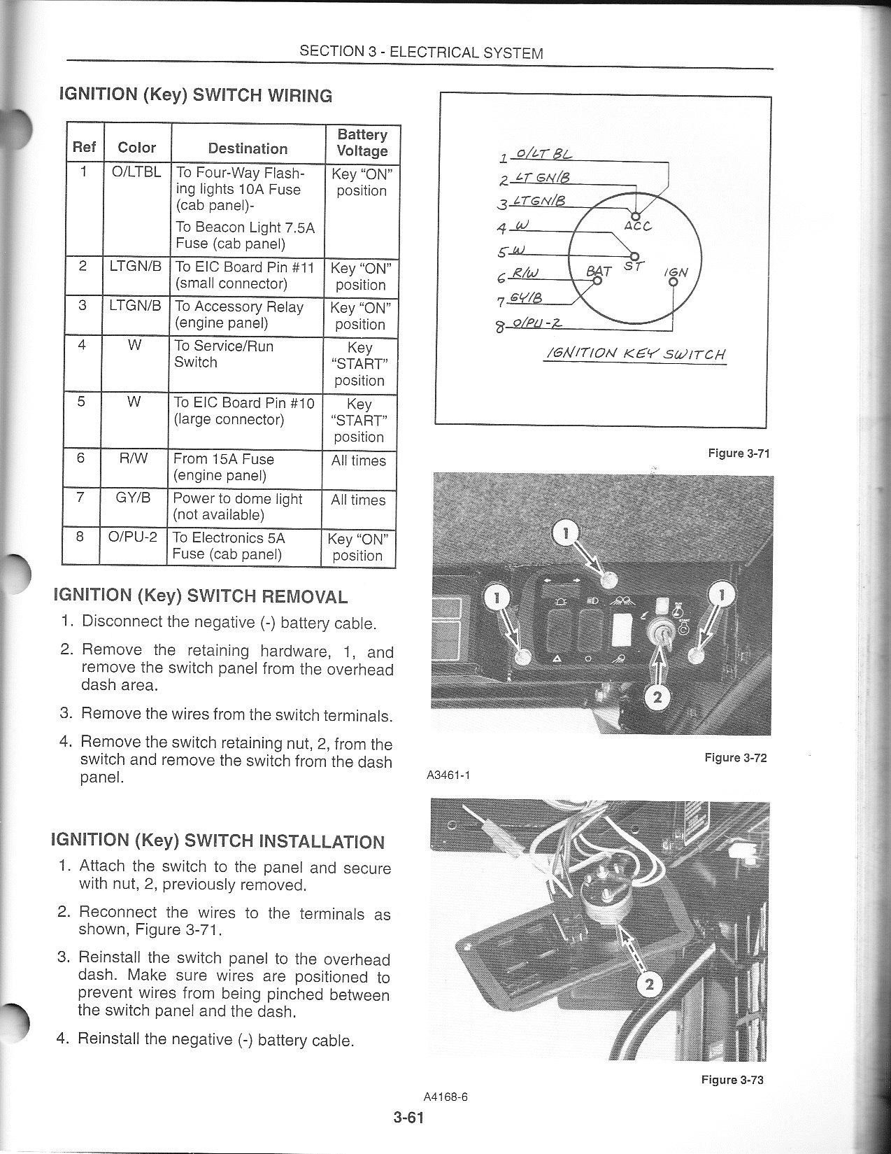 I Have A Lx885 Skid Steer It Started Blowing 30 Amp Fuse On The Box Bat Ideas Here Is Info An Offer Only Know Of Two Panels In Engine Compartment If This Isnt Helpful Then Please Advise So Can Opt Out